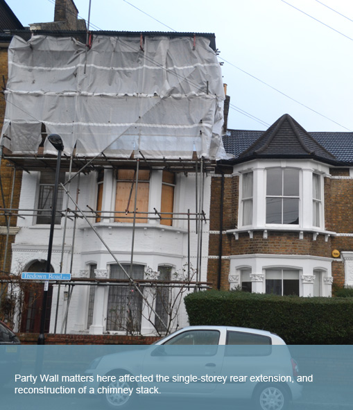 Party wall surveyors lewisham party wall surveyors in for Party wall agreed surveyor